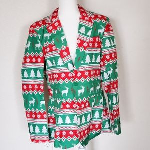 Other - Suitmeister Christmas suit top blazer